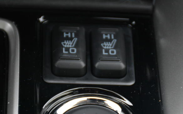 <p>Taken out of a page from Kia, the Eclipse Cross comes with heated front seats and side mirrors at the base level. There's plenty of value to be found in that formula, but if you want the entire heating experience, opt for the top trim that includes a heated steering wheel.</p>
