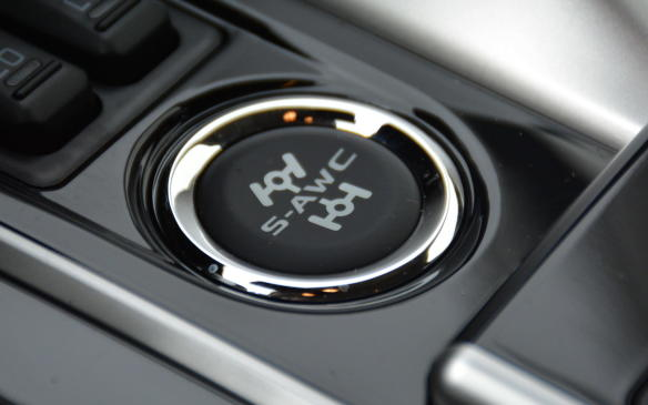 <p>Mitsubishi wants to show off its Super All-Wheel Control (S-AWC) – an advanced all-wheel drive system – by making it standard on all trim lines in Canada (front-wheel drive versions are available in the US). Torque vectoring distributes torque between the front and rear wheels, as well as side-to-side for continuous control and balance under various weather conditions.</p>