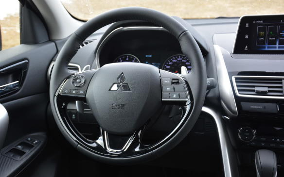 <p>To my surprise, the Eclipse Cross' steering was also effortless and precise. The wheel has a good weight and size (I despise thick steering wheels!) with only minimal steering input needed when tackling winding roads. The combination of S-AWC, standard 18-inch alloy wheels and steering ease result in limited body roll and a relaxed driving experience.</p>
