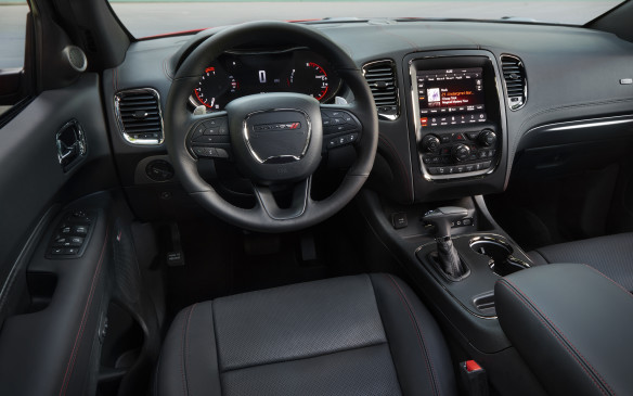 <p>2018 Dodge Durango R/T interior</p>
