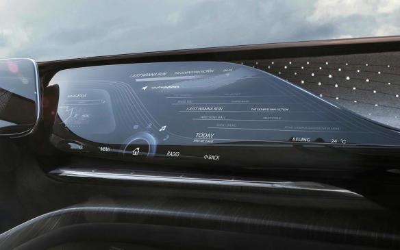 <p>Buick Enspire concept touchscreen</p>