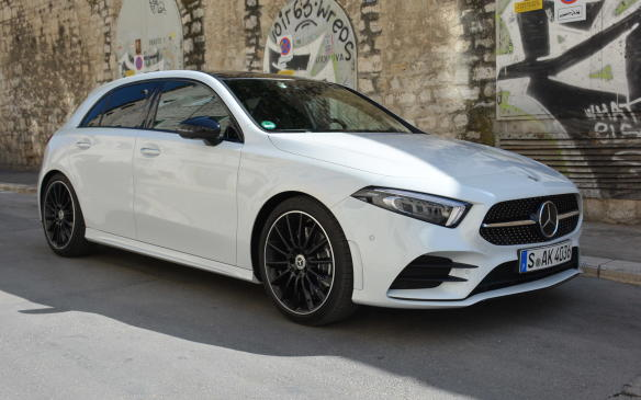 <p>The new A250 has a McPherson front suspension and a sophisticated 4-link rear suspension. This aids in an overall sporty ride with fewer vibrations. A lot of this can be attributed to the rear axle being attached to a subframe that's been isolated from the bodyshell by rubber bushings.</p>