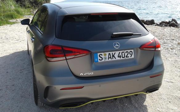 <p>The 2019 Mercedes-Benz A250 hatchback and sedan will arrive in dealerships in November 2018, with pricing and fuel economy numbers to be revealed closer to the launch date.</p>