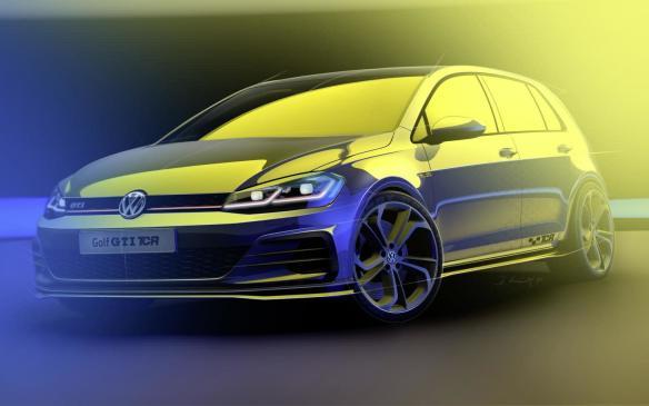 2019 Volkswagen Golf GTI TCR sketch