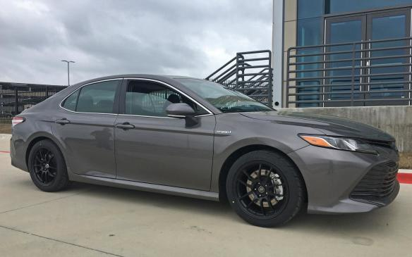 <p>One Lap of America Toyota Camry Hybrid from Indiana</p>