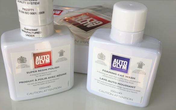 <p>AutoGlym sample kit</p>