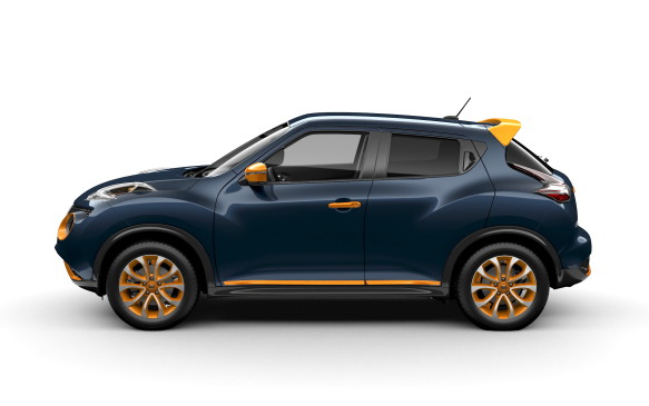 <p>2015 Nissan Juke with Colour Studio accessories</p>