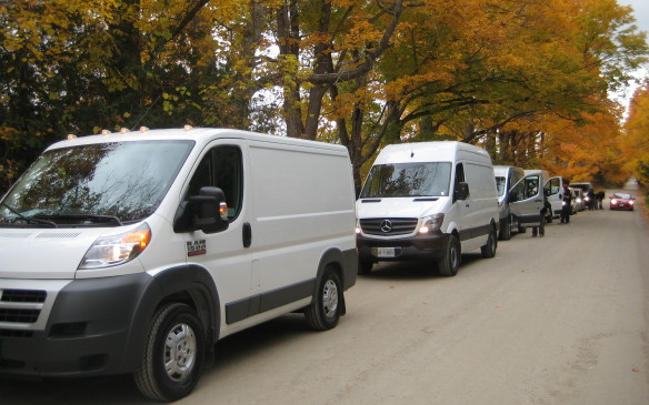<p>Along the way, judges took note of each van's driver position and ergonomics, the room and comfort level in the cab and any convenience and/or entertainment features such as a navigation system and Bluetooth connectivity.</p>
