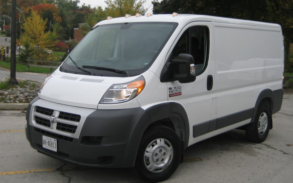 <p>Ram ProMaster 1500 V-6, 73.50; and Ram ProMaster 2500 V-6, 72.47. (The Rams were the only front-wheel-drive entries in the full-size category.)</p>
