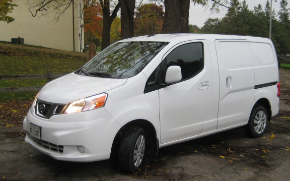 <p>The three mid-size entries, all front-wheel-drive models, were compared with each other and the results were very close, with the Nissan NV200, powered by 2.0-litre four-cylinder (131 horsepower/139 lb.-ft. of torque) coupled to a CVT (continuously variable transmission), edging out the two Ford entries.</p>