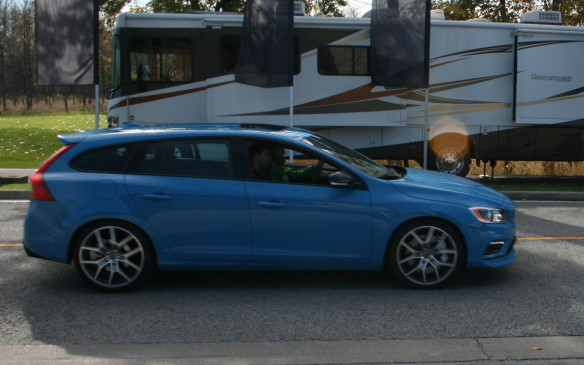 <p>Best New Sports/Performance Car >$50K -2015 Volvo V60 Polestar</p> <p>The2015 Volvo V60 Polestar won theBest New Sports/Performance Car >$50K title, upsetting the highly touted new Dodge Challenger Hellcat and Ford Mustang</p>