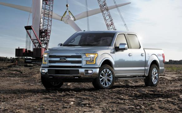 <p>Best New Pickup -2015 Ford F-150</p> <p>In spite of a significant price disadvantage, the2015 Ford F-150 outscored GM's mid-size twins, the Chevrolet Colorado and GMC Canyon to earn the title of Best New Pickup of 2015.</p>