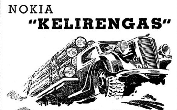 <p>The predecessor to Finland's Nokian Tires invented a durable snow tire in 1934, eliminating the need for cumbersome and noisy tire chains. Its Kelirengas winter tire proved immensely effective mounted on the trucks and buses that kept Scandinavia moving through the long winters. These tires paved the way for the generations of snow tires to come, as well as today's winter tires.</p>