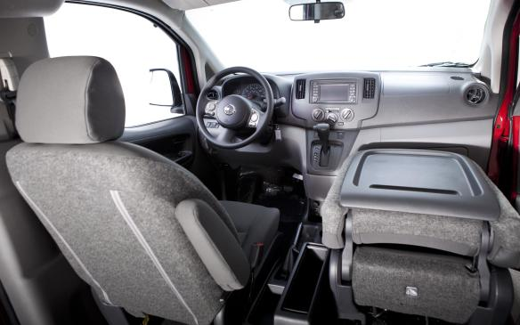 <p>Inside, several customizable options exist, like reconfigurable interior storage or exterior cargo racks to better organize presents by size or destination. The cabin itself also offers flexibility when it comes for Santa's work laptop and the 'Naughty and Nice' master-list hard copy.</p>