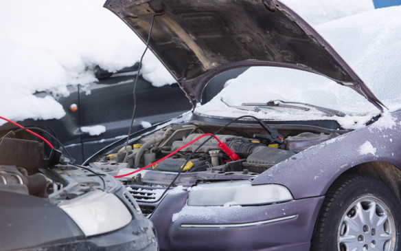 <p><strong>11. Jumper cables -</strong></p> <p>If the engine won't start because the battery is dead or depleted, jumper cables can solve the problem – if you can find someone with another vehicle willing to help. It also means you'll be able to help someone else in need.</p>
