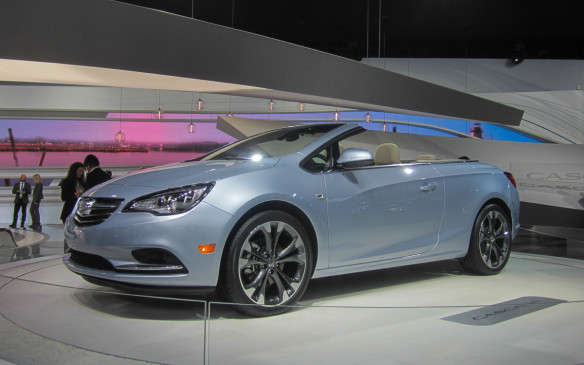 <p><strong>2015 Buick Cascada</strong></p> <p>Buick is pushing against its reputation of building boring cars, and the 2015 Cascada convertible is its strongest effort yet. Much like the Regal is an Opel Insignia, the new Cascada is an almost virtual copy of the European Opel. Based on the same platform as the Verano, the two-door Cascada offers a powered soft convertible top that can raise and lower in 17 seconds at up to 50 km/h. Power comes from a 200-horsepower version of Buick's new 1.6-litre turbocharged four-cylinder matched to a six-speed automatic transmission. And the company's excellent HiPer strut-based front suspension and a Watts-style Z-axle at the rear will help deliver grins when the roads are more challenging.</p>