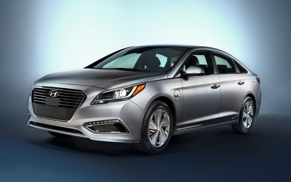 <p><strong>2016 Hyundai Sonata Hybrid / Plug-In Hybrid</strong></p> <p>Hyundai took an extra year to properly engineer its Sonata Hybrid, and also added a plug-in version at the same time. The plug-in version uses a larger 9.8 kWh battery – about five times larger than the regular hybrid – and is expected to deliver around 35 kilometres of electric-only range. Both use a new 154-horsepower 2.0-litre four-cylinder as their base, with the plug-in delivering 202 horses combined and the hybrid still at 193 horses. Also, even though the hybrid's battery offers around 13% better capacity than before, it now stows under the trunk floor rather than behind the rear seats. Visually, the pair get unique aerodynamic wheels and eco-friendly tires, and unique headlight clusters, with HIDs available on upscale models.</p>