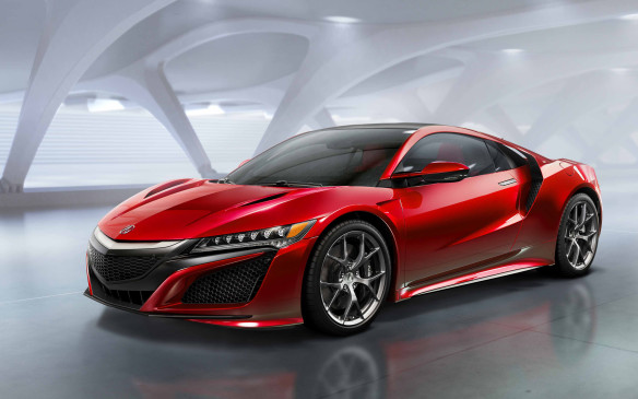 <p><strong>2016 Acura NSX</strong></p> <p>The long-teased second generation of Acura's excellent NSX sports car has finally broken cover and, judging by the looks and specs alone, it should be worth the wait. The mid-engined design stays faithful to Tony Stark's version, and although the production version still has a roof – for now, anyway. The NSX uses not only a twin-turbocharged 3.5-litre V-6, but also a trio of electric motors, two of which power the front wheels for on-demand all-wheel drive and torque-vectoring control. The sole transmission choice is a nine-speed dual-clutch type. All other pertinent details – power, range, equipment and price – will be revealed sometime in the future.</p>