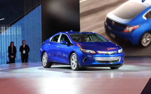 <p><strong>2016 Chevrolet Volt</strong></p> <p>Chevrolet announced significant changes for its second-generation Chevrolet Volt PHEV, which debuts as a 2016. The most obvious is the sheet metal, which is much sleeker, sportier and less obviously an electric vehicle. The cabin has been similarly matured, ditching the Apple-white instrument panel for a more traditional design. Mechanically, the Volt gets two electric motors that offer not only better acceleration, but also weigh less than before. As does the revised lithium-ion battery pack with about one-third fewer cells than before, which helps give the 2016 Volt an estimated electric-only range of 80 kilometres. The new gasoline 1.5-litre four-cylinder 'range-extender' engine is more efficient, and promises to deliver 5.1 L/100 km (41 mpg US) once the batteries deplete.</p>