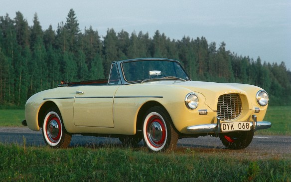<p><strong>1956-1957 Volvo Sport (a.k.a. P1900)</strong></p> <p>If the Duetto was Volvo's Suburban, the P1900 was its Corvette – complete with fibreglass bodywork. Under the hood, though, there was no V8 but a tweaked version of the 1.4-litre four-cylinder from the PV444.  It was aimed at the American market but only 67 copies were made before persistent quality problems prompted Volvo to pull the plug in 1957.</p>