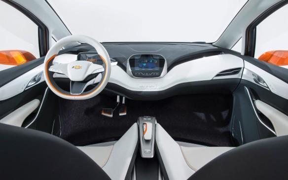 <p>Chevrolet Bolt interior</p>