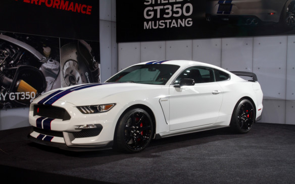 <p>2016 Shelby GT350R Mustang</p>