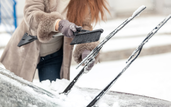 <p>Ensure the wipers are turned off before attempting to start the engine. If in doubt, ensure that they are clear of the windshield. If they're frozen to the glass, they may blow a breaker or damage the motor. If they do pull free, it may damage the leading edge of the the blades. Using them to try to clear ice can cause similar damage. They are not designed for heavy lifting so don't use them to move quantities of snow or Get in the habit of making sure the wipers are off before shutting the vehicle down. And it's not a bad idea to pull them clear of the windshield when you are stopping for a lengthy period.</p>