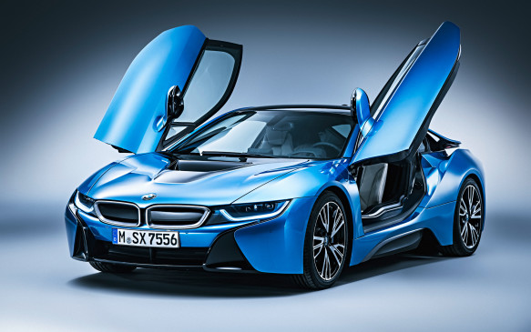 <p>The wing-like doors add to the i8's exotic look and they are light to open and close...</p>