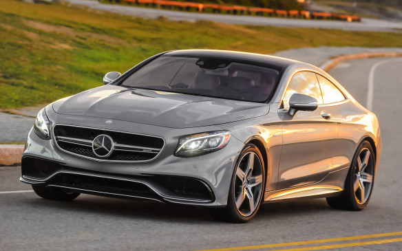 <p><strong>SEDANS & COUPES: </strong><strong>Mercedes-Benz S63 AMG 4Matic Coupe</strong> – Playboy usually picks separate winners for Sedan and Coupe categories but this year a single winner was chosen to cover both, and a worthy winner it is. The S63 AMG 4Matic Coupe complements its 577 hp bi-turbo V-8 engine with looks and handling to match.</p>
