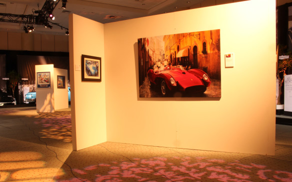 <p>Jay Koka is an internationally-renowned automotive fine artist. One look at is work, displayed at the auto show in both the Art and the Automobile feature exhibit and the Auto Exotica area, explains why. Did we mention that he's Canadian?</p>