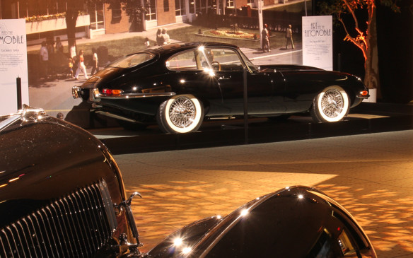 <p>While some aircraft and rocket-age influence continued into the 1960s, there was a noticeable shift to pure form as the styling theme of that decade. That look was epitomized in its purest form by the now-classic Jaguar XK-E, which is one of the few vehicles in the permanent collection of the Museum of Modern Art.</p>