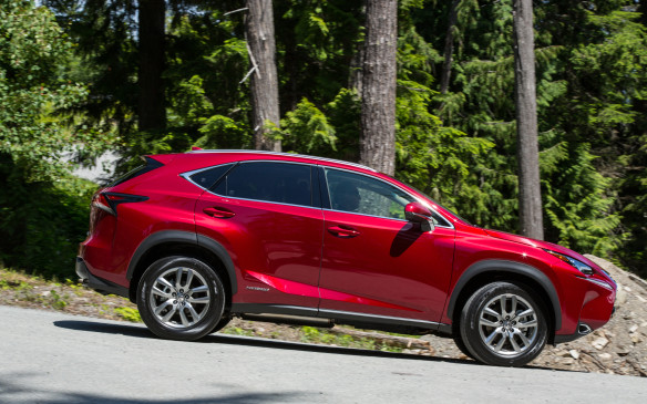 <p><strong>1. Lexus NX 300h </strong><strong>–</strong> It's barely out of the gate and Lexus has already claimed a trophy for the thriftiest all-wheel-drive SUV, although the compact NX 300h is no bargain. Starting at $58,850, the NX uses a 2.5-litre four-cylinder engine with electric assist that offers a combined 194 horsepower and 154 lb-ft of torque. However, no other SUV can match its fuel economy ratings of 7.1 L/100 km in the city, 7.7 highway and 7.4 combined.</p>