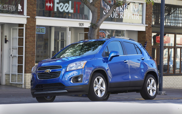 <ol> <li><strong> Chevrolet Trax – </strong>One of the smallest SUVs around combined with the smallest engine on the list should count for something, right? The sub-compact Chevrolet Trax uses a turbocharged 1.4-litre four-cylinder with 138 horsepower and 148 lb-ft of torque, which helps it feel more nimble around urban playgrounds. Ratings of 9.7 L/100 km city, 7.6 highway and 8.7 combined are good, but it's a pricy little ute with AWD models starting at $26,210.</li> </ol>