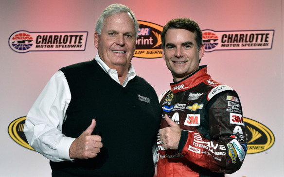 <p>Jeff Gordon, who drives the #24 car, started at the highest level of NASCAR racing in 1993. He is a four-time series champion, has won the Daytona 500 three times and is in his final year of racing. Currently he's in third place on the all-time NASCAR Cup wins list with 92 wins, earning more than $100 million in the process. Dale Earnhardt Jr. is the son of Hall of Famer Dale Earnhardt Sr. The driver of the #88 is oft-voted the sports favorite driver by fans. Johnson, a California native has six Sprint Cup Championships to his name at the wheel of the #48 Chevrolet. Kahne, born in 1980, drives the #5 Chevrolet for Hendrick, his fourth year with the team.</p>