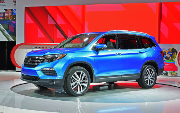 <p>Honda has re-engineered its Pilot mid-size SUV from the ground up for 2016.</p>