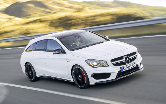 <p>Mercedes-Benz CLA Shooting Brake</p>