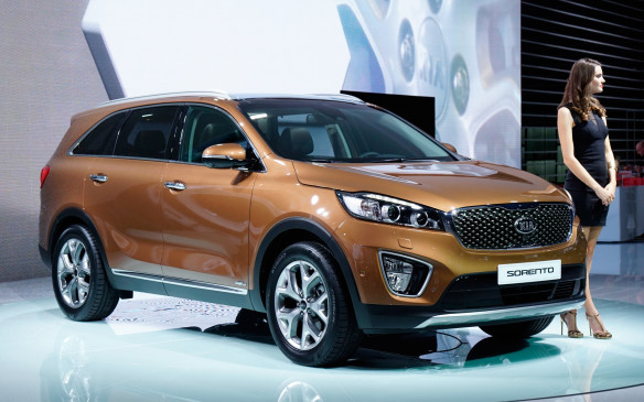 <p>Kia's third-generation Sorento is longer, lower, wider and roomier than its predecessor and more upscale in its appointments. Visually, it echoes some of the design cues of the 2013 Kia Cross GT concept. Two- or three-row seating, for up to seven, is available depending on market and model. Depending on the market, available 'active' safety technologies include adaptive smart cruise control, lane departure warning, front collision warning, blind-spot detection, lane change assist and rear cross-traffic alert. Five engines will be offered globally, including two diesels. The only one likely to make it to North America is a 2.4-litre gasoline direct injection (GDI) powerplant. The new Sorento is expected to go on sale in Canada and the U.S. in the first quarter of 2015.</p>