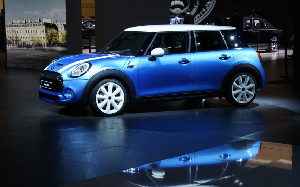 <p>For the first time in its 55-year history, Mini is adding a 5-door (four-door hatchback) to its already extensive lineup. With a wheelbase that's 72 mm longer than the 3-door's and a 16-mm longer overall length, the 5-door offers more interior room for both passengers and their cargo. It also, in theory at least, increases rear seat accommodations to three passengers, within the same overall width. The familiar Mini profile remains, albeit with a longer and taller roof that also improves headroom for all occupants.</p>