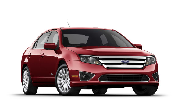 <p>2010-11 Ford Fusion Hybrid</p> <p>The Mexican-built Ford Fusion Hybrid married the Mazda 6's front-wheel-drive platform with hybrid technology licensed from Toyota, along with Ford's own tooling and styling edict. This mid-sizer's 2.5-litre four-cylinder gasoline engine was modified to run on the Atkinson cycle, which keeps the intake valves open longer for better thermal efficiency, making a modest 156 horsepower and 136 lb-ft of torque. The engine is supplemented by an AC electric motor, good for 106 horsepower and 166 lb-ft of torque. Together, the duo puts out a healthy 191 horsepower.</p>