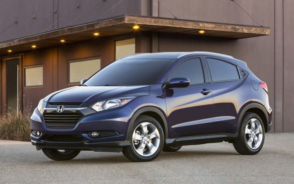 <p>The Honda HR-V is a new sub-compact crossover model that will be the gateway to the automaker's utility vehicle lineup when it arrives in showrooms this spring. The HR-V is based on the same global sub-compact platform that underpins the Fit, but is wider and taller than its sibling.</p>