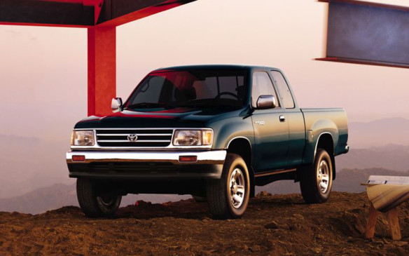 <p>In 1990, the company added its own finance arm, to support local needs for financial services and in 1992, the first big Toyota pickup – the T100 – arrived. It was the first pickup to directly challenge the established North American Big Three in the market they considered their own.</p>