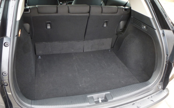 <p>Honda HR-V trunk</p>