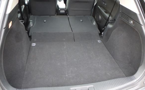 <p>Honda HR-V cargo area</p>
