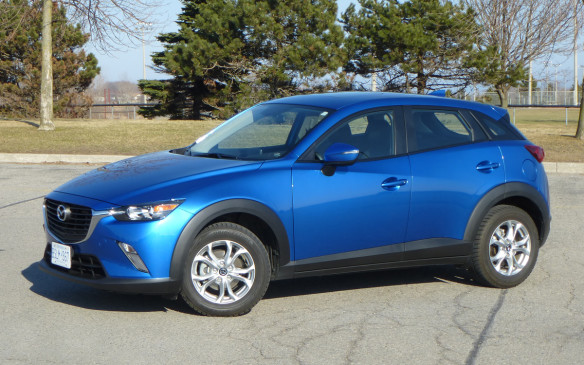 read car review 2016 mazda cx 3 the right size car at. Black Bedroom Furniture Sets. Home Design Ideas