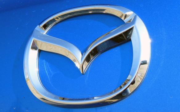 <p>Mazda logo</p>