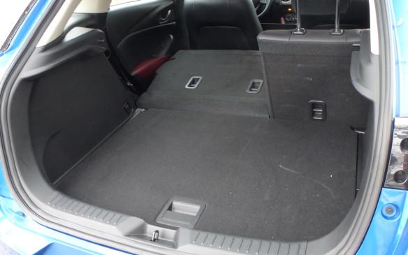 <p>Mazda CX-3 cargo area</p>
