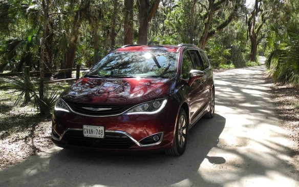<p>Like its Magic Wagon ancestors, the wholly redesigned Chrysler Pacifica, including this hybrid model, calls Windsor, Ontario home.</p>