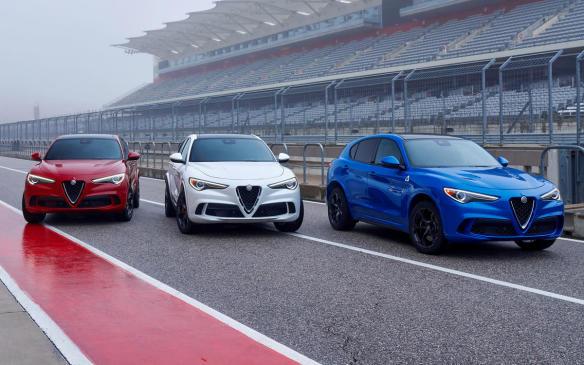 <p>2018 Alfa Romeo Stelvio Quadrifoglio</p>