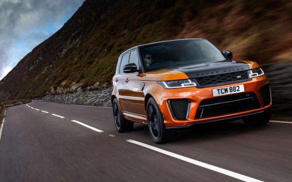 <p>2018 Range Rover Sport SVR</p>