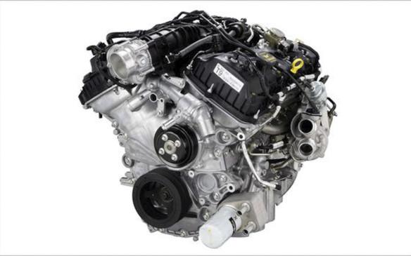 <p>Ford F-150 5.0-litre V-8</p>